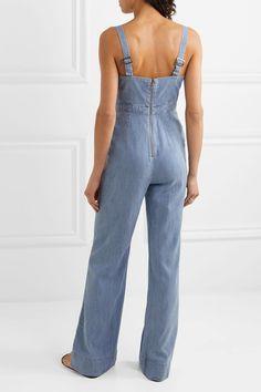 c0903016ddc5 Alice + Olivia - Cristal chambray jumpsuit
