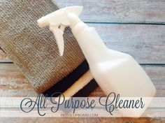 DIY All Purpose Cleaner - paleocupboard.com. Perfect natural cleaner for any washable surface such as counters and floors. Save money AND avoid harsh chemicals!