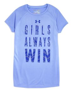 Under Armour Girls' Always Win Tee - Sizes Xs-xl