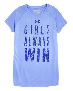 Under Armour Girls' Always Win Tee - Sizes Xs-xl