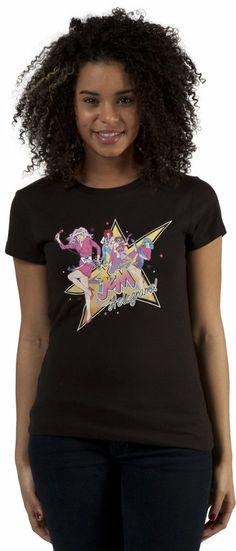 Ladies Band Jem Shirt Its truly outrageous