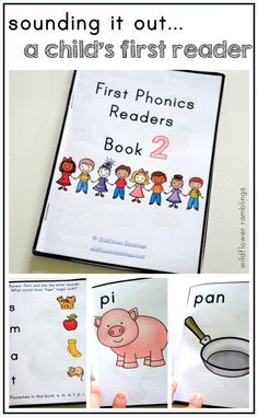 First Phonics Readers {Book 2} - Wildflower Ramblings