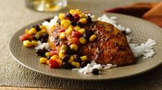 Need a 30-minute dinner with tasty chicken breasts? Grab a skillet, some sassy salsa and a few extras.