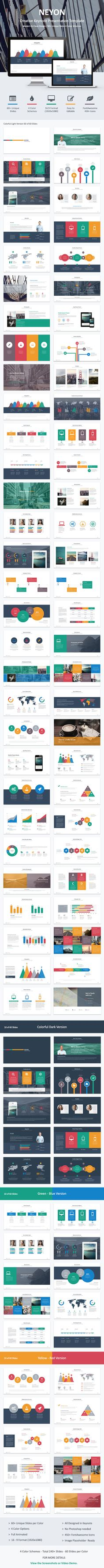 Neyon - Keynote Presentation - Creative Keynote Templates