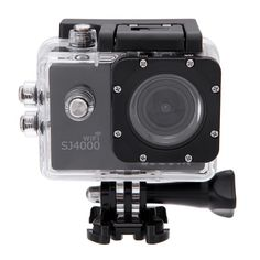 MeGooDo SJCAM Original SJ4000 WiFi Action Camera 12MP 1080P H.264 1.5 Inch 170° Wide Angle Lens Waterproof Diving HD Camcorder Car DVR (Black) -- Learn more by visiting the image link. (This is an Amazon Affiliate link and I receive a commission for the sales)