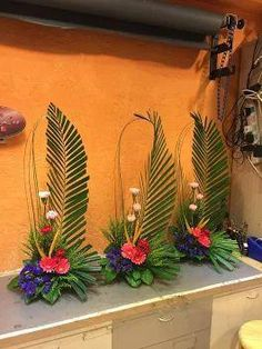 Selecting The Flower Arrangement For Church Weddings Tropical Flower Arrangements, Church Flower Arrangements, Church Flowers, Beautiful Flower Arrangements, Funeral Flowers, Tropical Flowers, Beautiful Flowers, Wedding Flowers, Church Altar Decorations