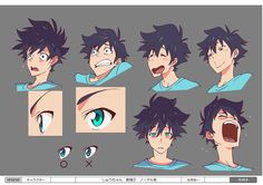 ME!ME!ME! - 日本アニメ(ーター)見本市  ★ || CHARACTER DESIGN REFERENCES…