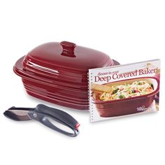 Deep Covered Baker Dinner Set - The Pampered Chef®