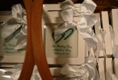 173 Carlyle House in Norcross, wedding favors!