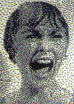 Psycho–Made with LEGO