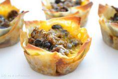 "Life as a Lofthouse (Food Blog): Taco ""Cupcakes"""