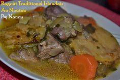 Ragoût Traditionnel Irlandais au Mouton http://luniversculinaire2nanou.blogspot.fr/2015/03/ragout-traditionnel-irlandais-au-mouton.html