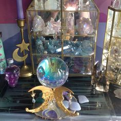 Down-to-earth teen girl bedrooms planning for a smart teen girl room styling, image info 3772023053 Crystal Room, Crystal Magic, Crystal Ball, Crystal Altar, Crystals And Gemstones, Stones And Crystals, Wiccan, Witchcraft, Handmade Home