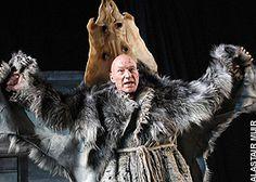 Patrick Stewart as Prospero in an Arctic Tempest; Rupert Gool's RSC Production, 2006