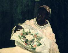 Edouard Manet, Olympia (detail)