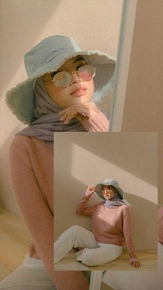 outfit plus size Street Hijab Fashion, Muslim Fashion, Ootd Fashion, Teen Fashion, Casual Hijab Outfit, Hijab Chic, Ootd Hijab, Asian Model Girl, Muslim Beauty