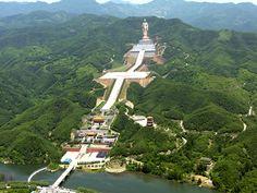 Faszinierenden #FoquanTempel in #Henan #China