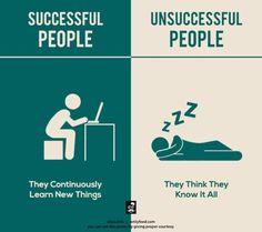 7張比對圖讓你一目了然「成功者」與「失敗者」的差別! | ShareOnion 分享蔥