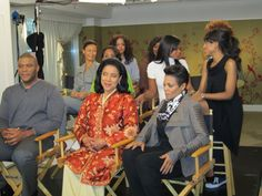 Janet, Tyler & For Colored Girls Cast Behind The Scenes of Entertainment Tonight
