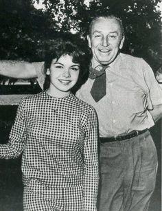 Annette & Walt Disney