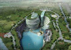 Songjiang Quarry Hotel / Atkins