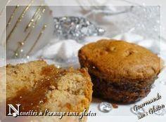 Gourmande sans gluten: Nonettes à la confiture d'orange sans gluten
