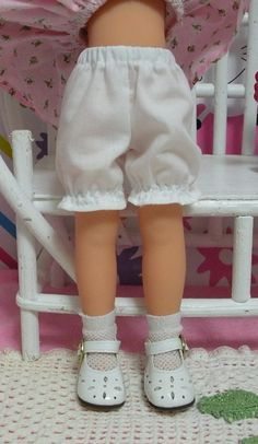 "Wonderful World of Dolls - Fits 13"" Les Cheries Corolle Doll .. White Bloomers... Doll Clothes ... D842, $4.75 (http://www.wonderfulworldofdolls.biz/fits-13-les-cheries-corolle-doll-white-bloomers-doll-clothes-d842/)"