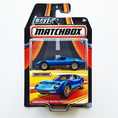 And another one... a classic. Lamborghini Miura P400 S. . . . #matchbox #mbx #bestofmatchbox #toyphotography #toycrew #toypics #lamborghini #vintage #vintageracecar #fromthepegs