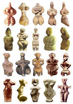 5300-4200 BCE Stone Age figurines