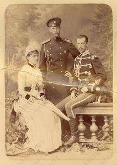 Grand Duchess Elizabeth, Grand Duke Serge and Grand Duke Paul