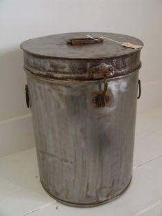 Silver bucket  denBestenstyling