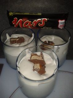 McFlurry au Mars comme chez McDo (Lia022) - Recette Cuisine Companion Mc Flurry, Lidl, Thermal Cooking, Prep & Cook, Crepes, Thermomix Desserts, Mousse, Caramel, Food Porn