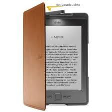 Amazon Kindle Lederhülle mit Leseleuchte
