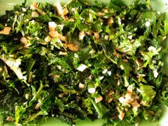 Kale Salad with Toasted Coconut from Everybody Likes Sandwiches
