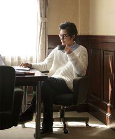 使用毛糸:プロバンスシリーズ【684】Macon(マコン)。作品♪215w-08メンズワイドセーター