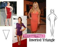 inverted triangle celebrities