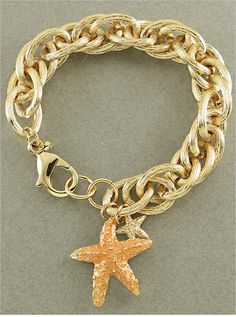 Starfish Links Bracelet from P.S. I Love You More Boutique