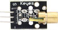 KEYES KY-008 Laser Transmitter Module
