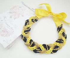 See what Accessories Maria (HMWithStyle) found on We Heart It, your everyday app to get lost in what you love. Handmade Necklaces, Ribbon, Style Inspiration, Facebook, Chain, Bracelets, Accessories, Jewelry, Fashion