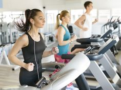 People Running On Treadmill Gym Daily Health Tips, Natural Health Tips, Running On Treadmill, People Running, Tip Of The Day, No Equipment Workout, Fitness Equipment, Diabetes, Coaching