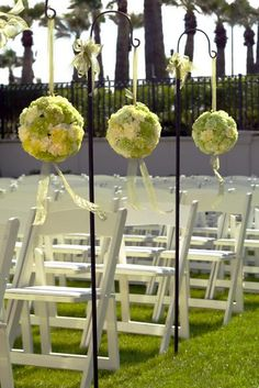 wedding flowers; garden's decoration    (www.sposalicious.com)