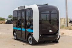 Say hello to Olli, the autonomous vehicle that might soon be ferrying you from casino to casino.