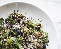 In the July 4th Kitchen: Rice and Quinoa Salad with Fresh Berries | Free People Blog #freepeople