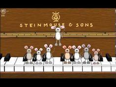 Cumpleaños feliz, ratones al piano - YouTube Más