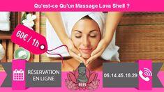 Massage domicile: Qu'est-ce Qu'un Massage Lava Shell ? Massage Relaxant, Lomi Lomi, Stress, Circulation Sanguine, Lava, Shell, Reduce Cellulite, Immune System, Chronic Pain