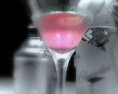 Red Velvet Martini Recipe #Chambord is to die for! ;)