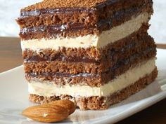Sweets Recipes, Easy Desserts, Baking Recipes, Cake Recipes, Cobb, Romanian Desserts, Waffle Ice Cream, Chocolate Garnishes, Kolaci I Torte