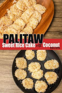 How To Make Palitaw ( Easy Steps and Procedure ) Sweet Rice Cake with Coconut. Palitaw made of Glutinous Rice Flour and Water coated with Shredded coconut, Toasted Sesame seed and Sugar, a Classic Filipino kakanin and snacks. #Palitaw #howtocookpalitaw #Sweetricecake Rice Flour Recipes, Coconut Recipes, Snack Recipes, Cooking Recipes, Snacks, Filipino Food, Filipino Recipes, Burmese Food, Glutinous Rice Flour