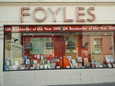Foyles, 113-119 Charing Cross Road, Soho; Tel: +44 (0)20 7437 5660. http://www.foyles.co.uk