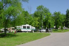 RV Site at Lake Rudolph Campground & RV Resort.